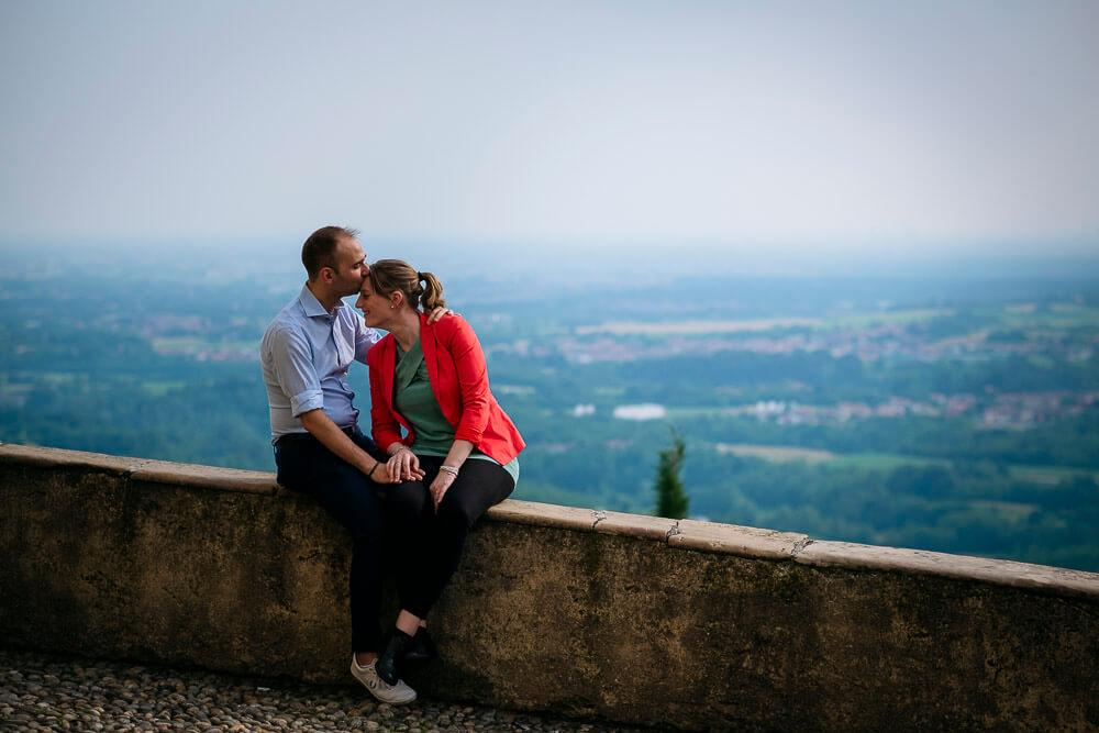 Servizio fotografico per engagement a Montevecchia