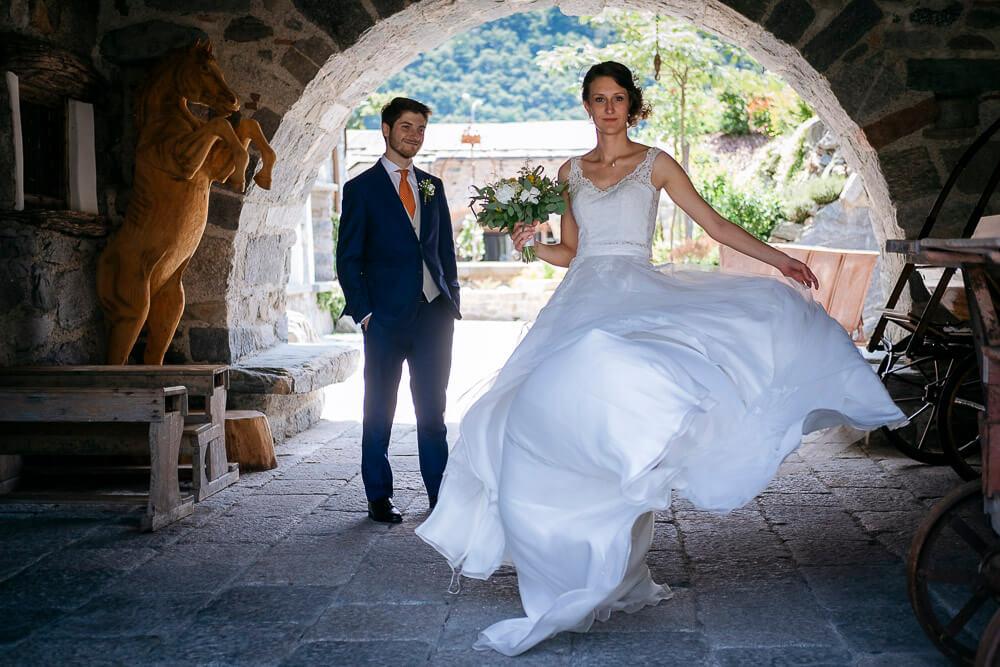 Servizio fotografico per matrimonio in Valtellina