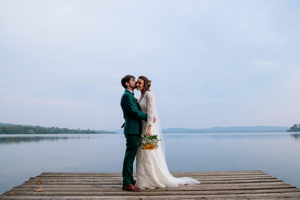 Servizio fotografico per matrimonio sul Lago di Gavirate