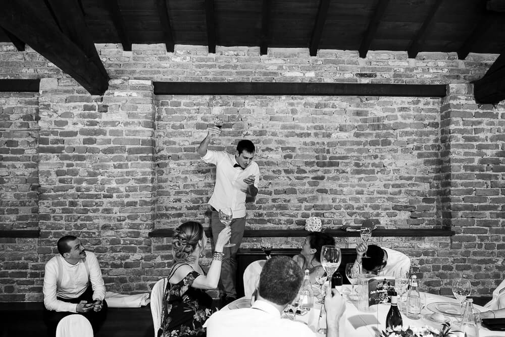 Servizio fotografico per matrimonio romantico a Certosa di Pavia, presso l'Antico Borgo della Certosa