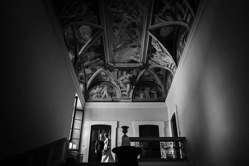 Servizio fotografico per matrimonio elegante a Corbetta, presso Villa Frisiani Mereghetti Maggi