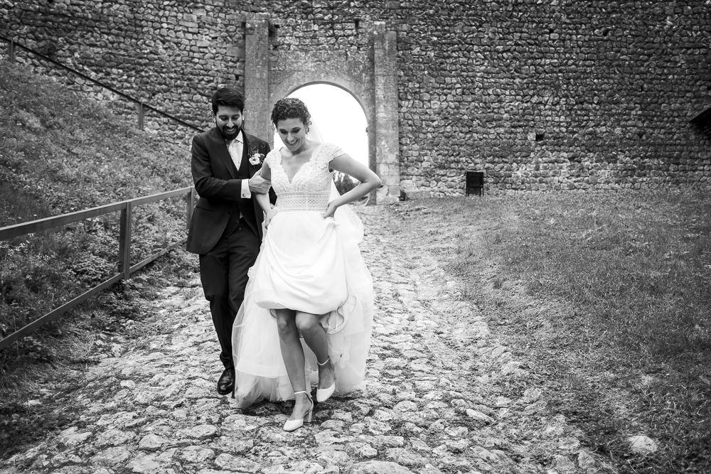 Fotografo Matrimonio Verona: Servizio fotografico elegante Castello di Soave