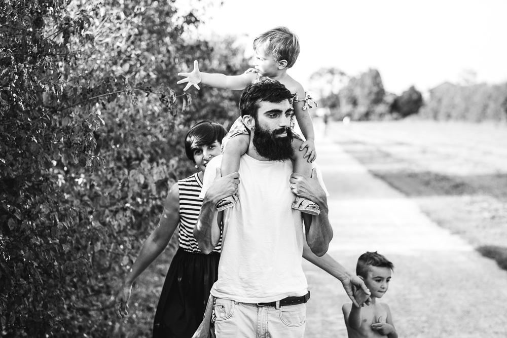 Fotografo Famiglie Monza: Ritratto di famiglia